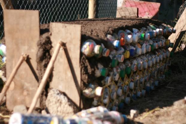 Construcción Banca en Parque Ecológico Angostura