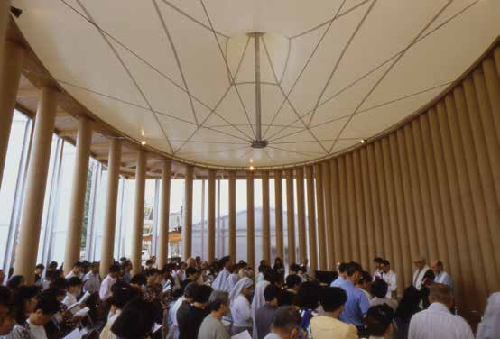 Paper Church, 1995 Kobe, Japan - ©Hiroyuki Hirai
