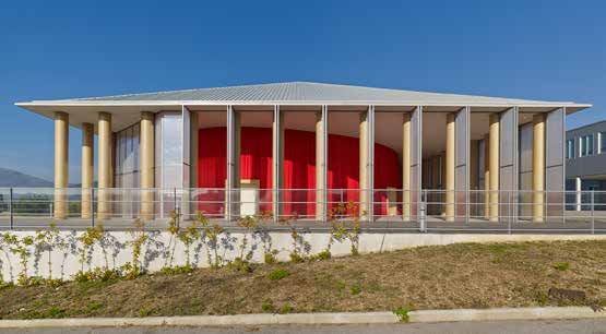 Paper Concert Hall, 2011 L'Aquila, Italy - ©Didier Boy de la Tour