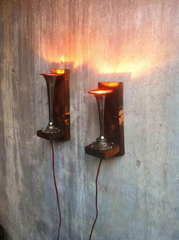 lamparas bocinas